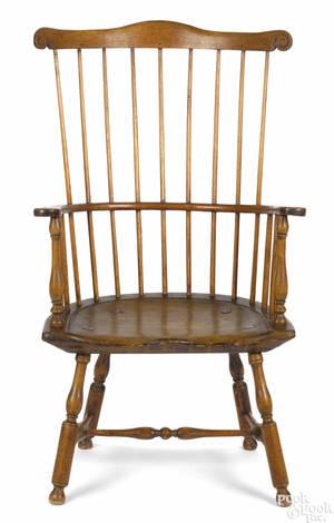Philadelphia combback Windsor armchair ca 1770