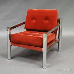 Milo Baughmanstyle Lounge Chair