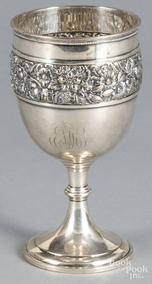 Tiffany  Co silverplated goblet