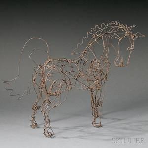 Ty Varick Horse Sculpture