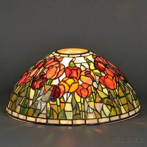 Mosaic Glass Shade in the Style of Tiffany