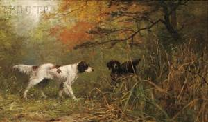James Brade Sword American 18391915 Landscape with Pointers