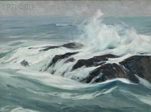 Charles Herbert Woodbury American 18641940 Ogunquit Reef