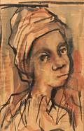 Charles Sebree African American 19141985 Head of a Boy