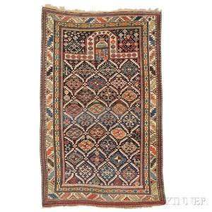 Northeast Caucasian Prayer Rug