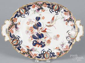 Imari style porcelain serving tray
