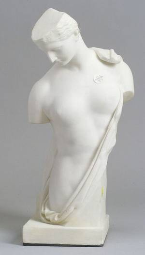 Marble Bust of a Classical Woman after the Antique