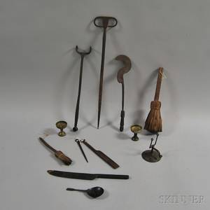 Group of Early Metal Items