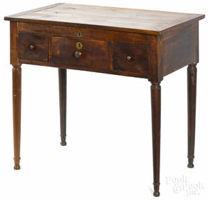 French walnut dressing table