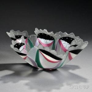 Richard Lalonde Art Glass Bowl