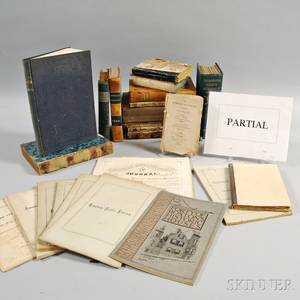 Large Group of Books and Pamphlets Relating to New England