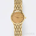 Ladys 18kt Gold and Diamond Wristwatch Audemars Piguet