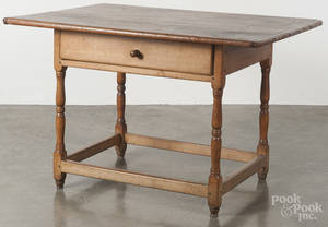 New England pine and cherry tavern table