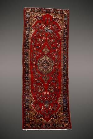 Hand Woven Persian Hamedan Runner