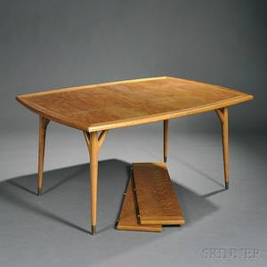 MidCentury Oak Modern Dining Table
