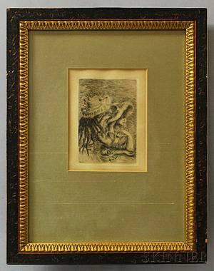 PierreAuguste Renoir French 18411919 Le Chapeau pingl