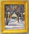 Omer Thomas Lassonde American 19031980 Little House