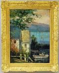 Matt Thomas British 20th Century Houses and Sailboat