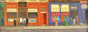 Albert Wolper American 20th Century The Silk Shop