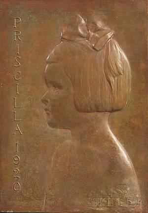 James Earle Fraser American 18761953 Priscilla 1920