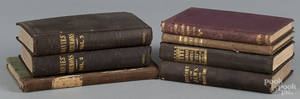 Seven books on Christian and Jewish religious topics