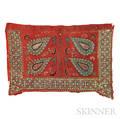 Uzbek Embroidered Saddle Blanket