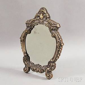 Sterling Silver Framed Mirror