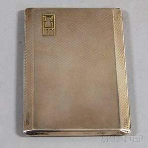 George V Mappin amp Webb Sterling Silver Cigarette Case