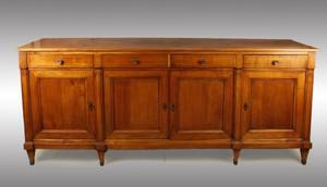 19th Century Mahogany 7 Foot Enfilade Server
