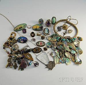 Group of Costume and Other Jewelry