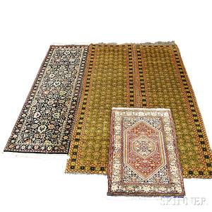 Four Indian Orientalstyle Rugs