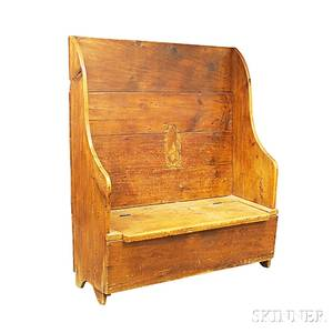 Country Pine Settle