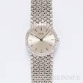 Ladys 18kt White Gold and Diamond Wristwatch Piaget