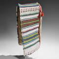 Lakota Beaded Hide Cradle