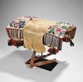 Plains Cree Buffalo Hide Pad Saddle