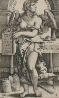 Hans Sebald Beham German 15001550 The Seven Liberal Arts  A Collection of Seven Prints