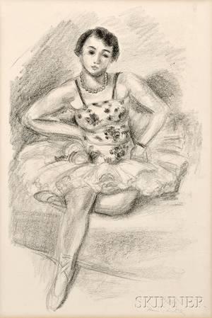Henri Matisse French 18691954 Danseuse assise en haut