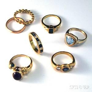 Seven Gold Rings