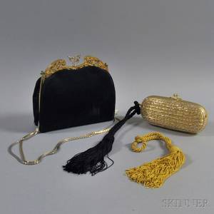 Two Judith Leiber Evening Bags