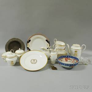 Group of Mostly Ceramic Tableware