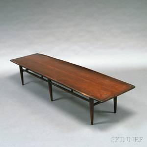 MidCentury Modern Walnut Coffee Table