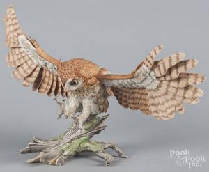 Boehm porcelain screech owl