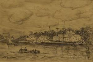 Reynolds Beal American 18661951 Harbor View