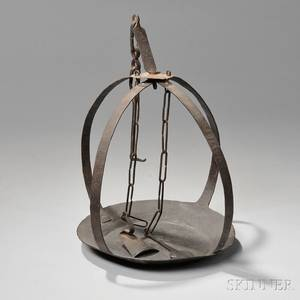 Iron Hanging Lantern Pan