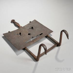 Wrought Iron Fender Trivet