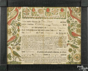 Johann Heinrich Otto Southeastern Pennsylvania active 17621797