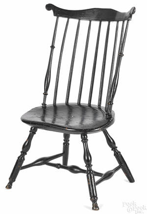 Lancaster Pennsylvania fanback Windsor chair ca 1790