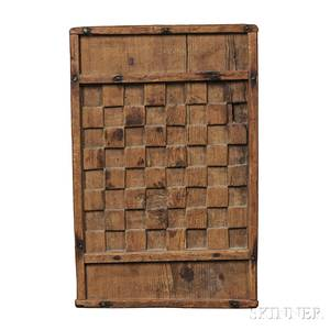 Carved Pine Game Board