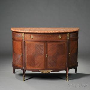 Louis XVstyle Marbletop Commode