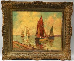William Dudley Brunett Ward Jr American 18791935 In Port
